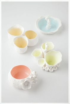 Sea Coral Trinket Dishes @ Anthropologie