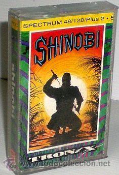 Shinobi [Virgin Games] 1989 Taito [Tronix] SEGA [Sales Curve Ltd] [ZX SPECTRUM]