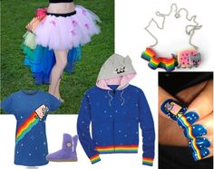 Nyan Cat Inspiered Outfit
