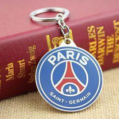 PARIS SAINT-GERMAIN KEYCHAINS @ Size: 5 x 5cm