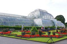 O Royal Botanic Gardens em Kew, Londres