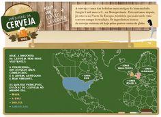 Mapa-Múndi da Cerveja