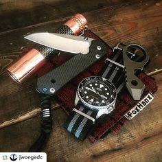 Add some stuff beautiful but strong to your EDChttp://amzn.to/2cFuPKe  ======>  @jwongedc:Last day in Park City.  @thinktwicecutonce Insingo Sebenza in CF @lumintop_flashlight Prince in Copper @seikowatchusa SKX007 on a @toxicnatos strap @jw_knives G5 Bandicoot @foxhanx Broken Arrow Hank. #sebenza #insingo #chrisreeveknives #bandicootbrotherhood #EDCHank #edc #everydaycarry #usntagram #everydaydump #edcgear #pocketdump #usualsuspectsnetwork #knifecollector #dailycarry #flashlights…