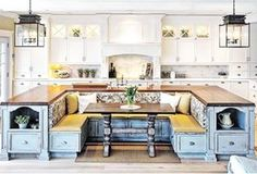 This ultimate island. | 21 Photos That Will Give You The Most Intense Kitchen Goals