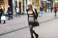 Amsterdam:: Striped Knits & Floppy Hat – EVELINAS FASHION CAFE