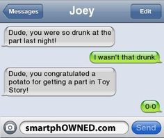 Drunk Party - - Autocorrect Fails and Funny Text Messages - SmartphOWNED