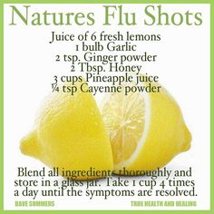 Natural cold remedy