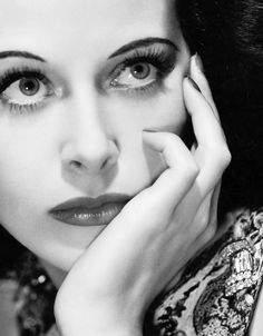 Austrian-American actress Hedy Lamarr who also co-invented  an early technique for spread spectrum communications and frequency hopping, necessary to wireless communication from the pre-computer age to the present day. #WomenRock