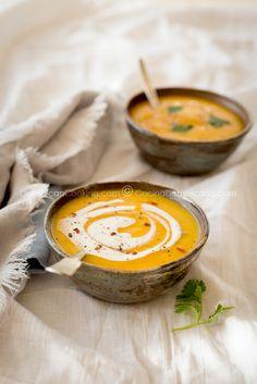 Crema de cepa de apio (Creole celery root cream)