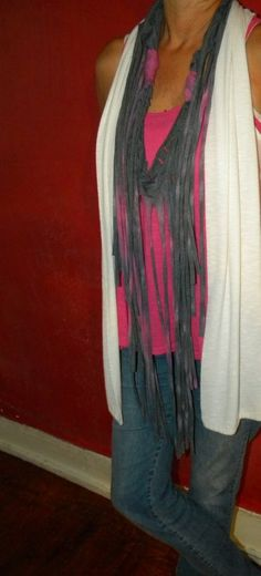 Gorgeous Tie Dye Scarf from recycled material by KillWalmart, $18.00