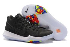 13ed4baa0686 Nike Kyrie 4 Lastest Nike Zoom Kyrie 3 Basketball Shoe Kyrie Irving 3 New  Release 2017 Kyrie 3 Black ICE Shoe For Sale