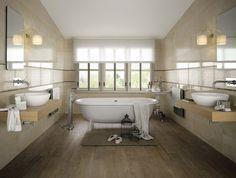 badezimmer hochglanz matt fliesen italienisch holzoptik weiße ...