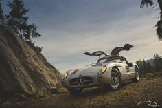 "Mercedes-Benz 300SLR ""Uhlenhaut Coupe"" in 1:18th scale by CMC."
