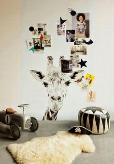Child's room or baby nursery #decor #home #interior