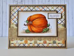 Hey Pumpkins!Another challenge at Stamp and Create with Magnolia just started today.For the next...