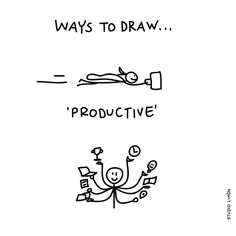 It seems that being productive is to do many things at the same time. Or to do things quickly. Word of day productive. Doodle Sketch, Doodle Drawings, Easy Drawings, Visual Thinking, Design Thinking, Daily Drawing, Drawing Tips, Visual Note Taking, Sketch Notes