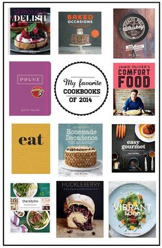 I'm developing a bad cookbook habit. I need to rein it in. Until I do, though... Favorite Cookbooks of 2014 // shutterbean