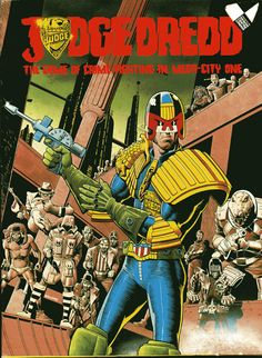 Judge Dredd game box cover