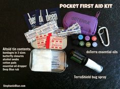 Natural & Non-toxic Emergency FIrst Aid Kit