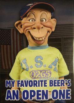 Bubba J Off Of Jeff Dunham | Jeff Dunham Bubba J My Favorite Beer Fridge Magnet New | eBay