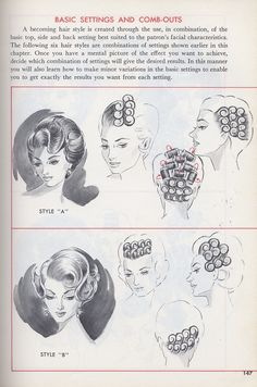 Hair - Female Vintage styles