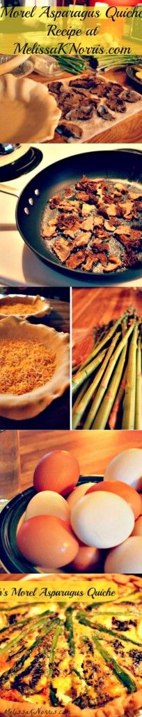 Asparagus, Morel And Ramp Quiche With A Brown Rice Crust Recipes ...