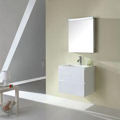 Madero 600mm Vanity White
