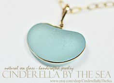 Sea Glass, Genuine Sea Glass Heart, Sea Glass Heart Necklace - Genuine Aqua Sea Glass Heart formed by Nature - Handmade Necklace 14 kt GF by CinderellaByTheSea on Etsy Real Gold Jewelry, Sea Glass Jewelry, Glass Beads, Timeless Beauty, Handmade Necklaces, Valentine Day Gifts, Aqua, Drop Earrings, Bride