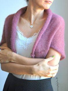 Mohair Sweater, Shrug Sweater, Bridal Bolero, Wedding Bolero, Wedding Cardigan, Bridal Cover Up, Silk Jacket, White Bridal, Maternity Wear