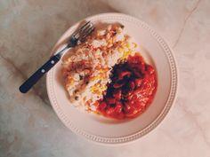 Filete de pescado a la veracruzana.