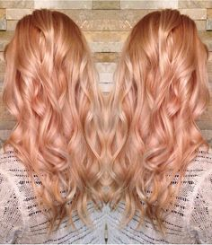 Strawberry Blonde Hair Color Ideas In 2020 Beautiful Light Strawberry Blonde Hair Color Chart Pics Strawberry Blonde Hair Color, Ombre Hair Color, Blonde Color, Cool Hair Color, Ombre Rose, Strawberry Hair, Color Red, Orange Ombre, Hair Colour
