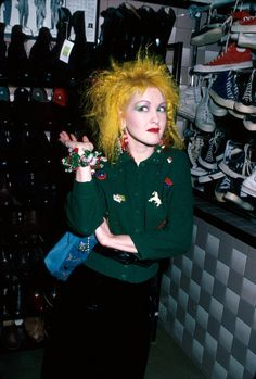 Cyndi Lauper's 5 Rules for Girls Who Just Wanna Have Fun With Beauty: http://www.vogue.com/13450762/cyndi-lauper-beauty-rules-hair-color-makeup/?mbid=social_onsite_twitter