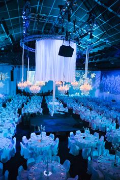 Winter Wonderland corporate event theme  #weddingandeventsvenue  #corporateparty