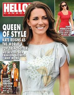 Kate Middleton, Pippa Middleton, Sarah Ferguson - Hello! Magazine Cover…