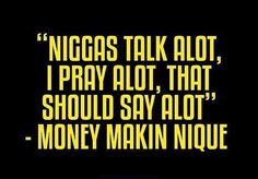 Gotta remain focused and keep counting blessing  One of the many quotable lines from brother @moneymakinnique