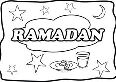 colouring pages for ramadan – Coloring Kids Coloring Pages For Teenagers, Love Coloring Pages, Free Printable Coloring Pages, Printable Cards, Free Coloring, Coloring Sheets, Coloring Books, Ramadan Activities, Ramadan Crafts