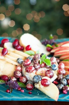 Marshalls Abroad: Happy New Year! Sparkling Berry Baked Brie