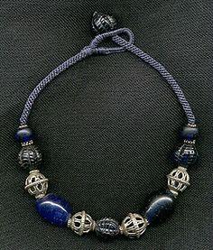 Katie Singer's Jewelry - old Czech glass necklace