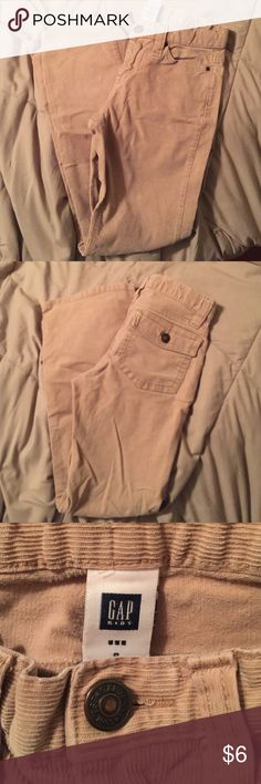 Gap Kids Corduroy Jeans Tan corduroy pants. Boot cut. 98% cotton, 2% spandex. Made in Indonesia. Gap Kids Bottoms Casual