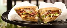 turkey with bacon sandwich | ... view all sandwiches paninis smoked blackened turkey bacon sandwich