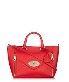 Willow small hibiscus leather tote Sale - Mulberry Sale Designer Bags Sale 58148adca740e