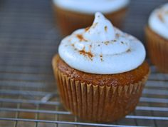 Gluten-Free Carrot Cake Cupcakes with Cream Cheese Frosting