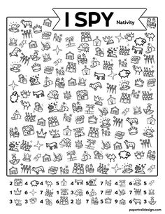 Use this I spy Nativity themed activity with your kids as a fun true meaning of Christmas activity while stuck inside #papertraildesign #ChristmasNativity #Manger #JoytotheWorld #Joy #ChristtheLord Holiday Activities For Kids, True Meaning Of Christmas, Paper Trail, I Spy, Joy To The World, Christmas Nativity, Holidays With Kids, Gift Guide, Free Printables
