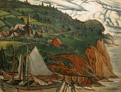 L'Anse aux Gascons (c.1941) - Marc-Aurèle Fortin Canadian Painters, Canadian Artists, American Scene Painting, Montreal Museums, National Art, Witch Art, Australian Art, Museum Of Fine Arts, Art Studies