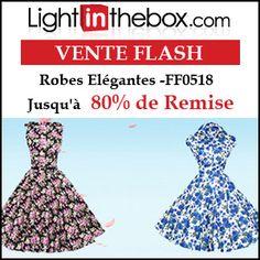 #missbonreduction; Vente Flash : jusqu'à 80 % de remise sur les Robes Elégantes -FF0518 chez Light in the box.http://www.miss-bon-reduction.fr//details-bon-reduction-Light-in-the-box-i852558-c1832498.html