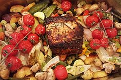 Saftiger Partybraten 1 Pot Roast, Food And Drink, Beef, Snacks, Chicken, Cooking, Ethnic Recipes, Versuch, Fondue