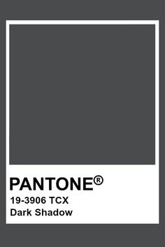 This is a blue hued grey with medium value and very low chroma of the blue. Pantone Tcx, Pantone Swatches, Pantone Colour Palettes, Pantone 2020, Color Swatches, Pantone Color, Colour Schemes, Color Trends, Pallets