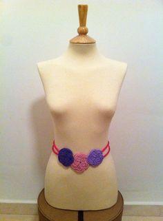 Cinturón de cordón de seda...puedes elegir los colores que quieras