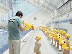 Air - eerste zwemles met badeendjes - Gregor Collienne