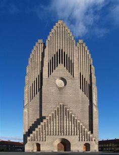 Grundtvig's Church, (Copenhagen, Denmark)
